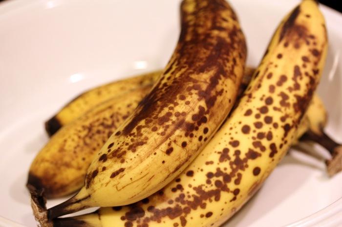 bruised banana